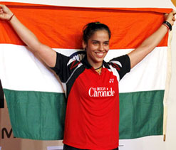 Saina is sure shot for a medal at Olympics: Aparna