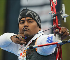 Indian archers finish third in the Olympic qualification round