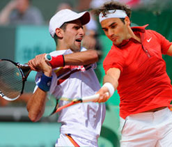 Djokovic, Federer on Wimbledon collision course