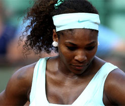 Serena claims 'getting butterflies in stomach' ahead of London Olympics