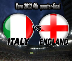 Euro 2012: Italy vs England-As it happened