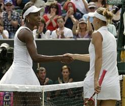 Wimbledon 2012: Venus Williams crashes out
