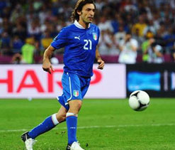 Euro 2012: Football world hails Andrea Pirlo
