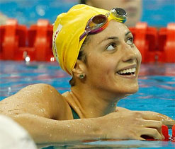 Stephanie prefers being 'dangerous wildcard' to 'hunted favourite' for London Olympics