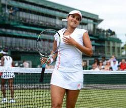 Sania-Bethanie in third round of Wimbledon