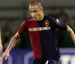Nainggolan `proud` to play for Cagliari