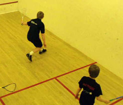 Tins go lower for Squash doubles
