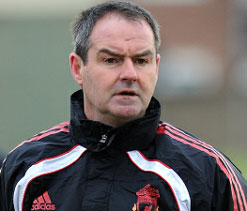 Steve Clarke leaves Liverpool
