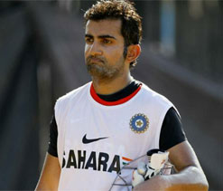 Gautam Gambhir not excited about playing Pakistan