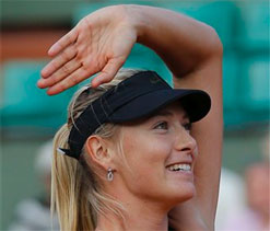 Sharapova to cut her hair only on retiring