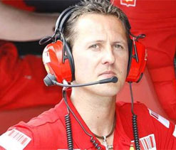 Schumacher says he would have been fighting for championship had luck favored him   