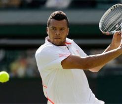 Tsonga hoping to dance all the way to Wimbledon glory