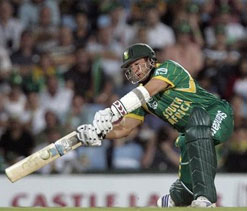 Boucher's ODI ton remains a historic one