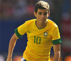 Chelsea races ahead to sign Brazilian midfielder Oscar