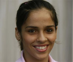 AP govt felicitates Nehwal, Sania & others 