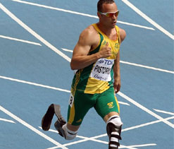 Manmade vs natural: Oscar Pistorius stokes debate