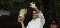 Roger Federer eyes gold at London Olympics