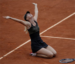 Sharapova to be Russia's first female flag-bearer at Olympics