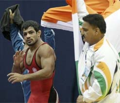 Indian wrestlers out to prove a point in London