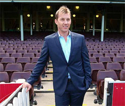 Ex-England cricketers lavish tributes on old rival Brett Lee