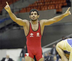 London Olympics: Sushil to be India's flag-bearer at opening ceremony