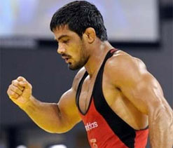 Sushil vows to give best at London Olympics