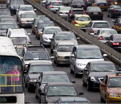 London witnesses 50 km long traffic jam as Olympians arrive!