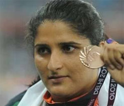 Seema Antil: Profile 2012 London Olympics