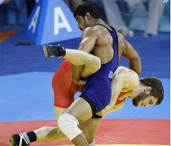 Wrestlers determined to give their best in Olympics
