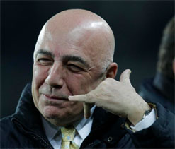 AC Milan will replace Zlatan Ibrahimovic with a champion: Galliani