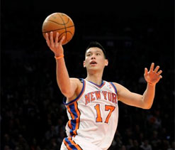 Jeremy Lin to leave New York Knicks for Houston Rockets