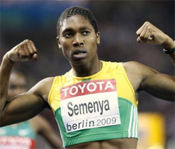'Gender row' athlete Semenya to be South Africa's flag-bearer at London Olympics