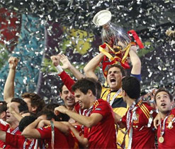 Euro Cup final: The historic moment for 'La Furia Roja'