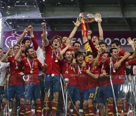 Euro Cup 2012 Final: Spain vs Italy-As it happened