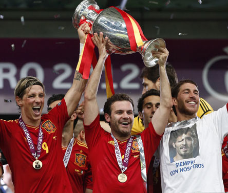 Euro Cup final: Records tumble in Spain's stunning triumph