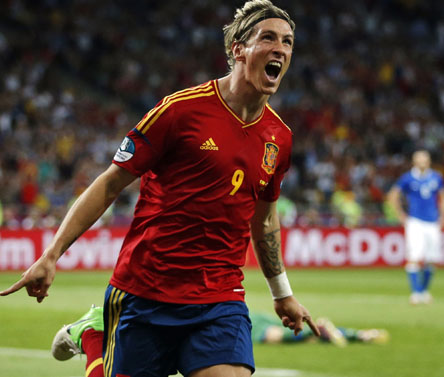 Fernando Torres pips Gomez, Ronaldo to win Euro 2012 Golden Boot