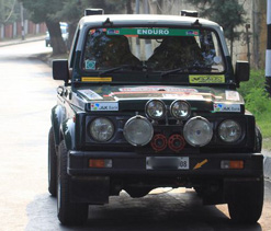 Death shakes up Mughal Road Rally