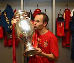 Euro Cup 2012: Andres Iniesta named Player of the Tournament