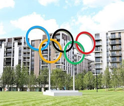 Indian boxing squad arrives in the Olympics Village
