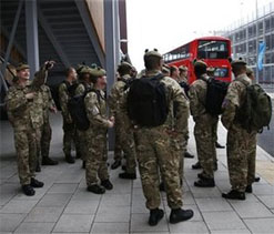 1,200 British soldiers put on standby for Olympics