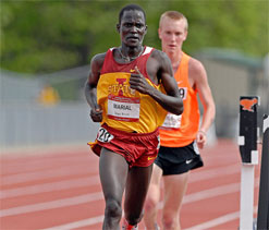 Runner without country to compete at Olympics