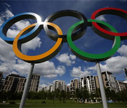 Indian national flag hoisted at Olympic Village