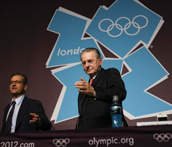 Rogge plays down fears around unofficial branding