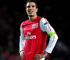 Wenger wants to keep wantaway Van Persie