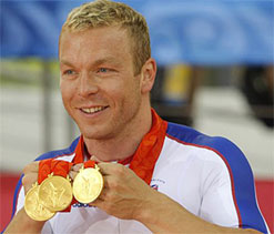 Chris Hoy to carry UK flag at London Games opening ceremony