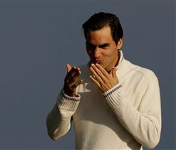 Roger Federer expects ''something special'' at London Olympics