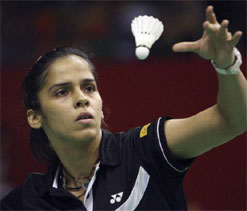 Saina starts her quest for Olympic medal against Swiss Sabrina
