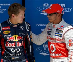 German Grand Prix: Hamilton slams Vettel as fallout turns into public spat