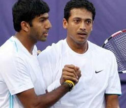 Bopanna gains a place in doubles rankings, Bhupathi drops one