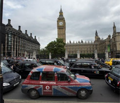 Olympics: Motorists face long delays on London`s clogged roads